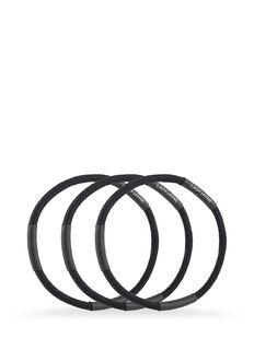 Black Super Hold Elastics - Pk 18