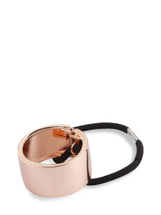 Rose Gold Metal Ponytail Cuffs