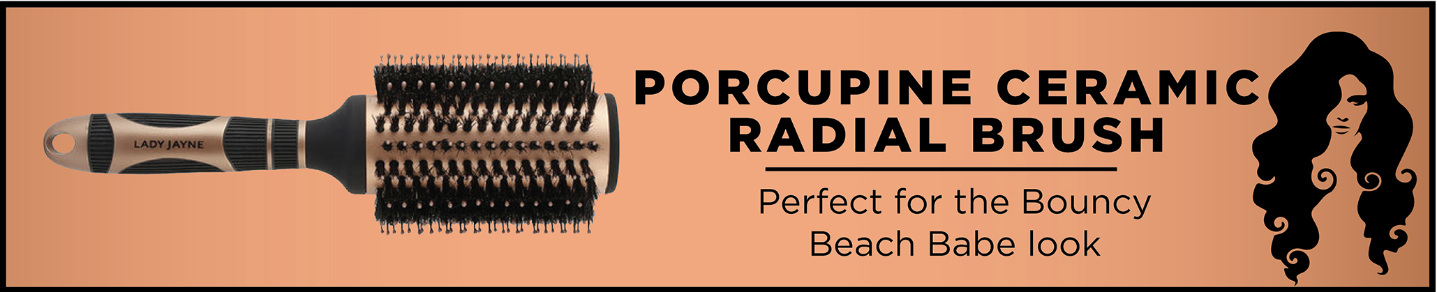 Style Options - Porcupine Radial Brush