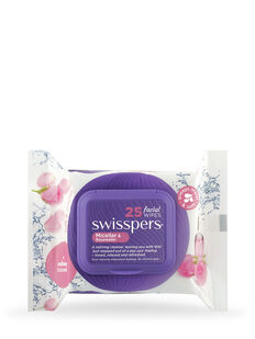 Micellar and Rosewater Facial Wipes 25 pack