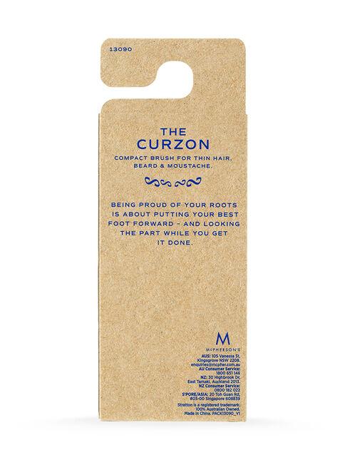 The Curzon Compact Beard Brush
