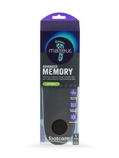 Advanced Memory Insoles, 1 pair