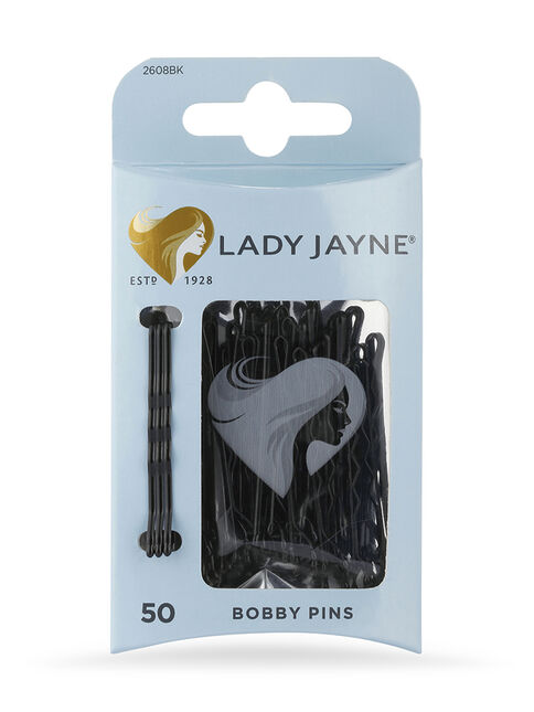 Black Bobby Pins - 50 Pk