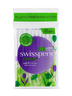 Cotton Tips Paper Stems 20pk