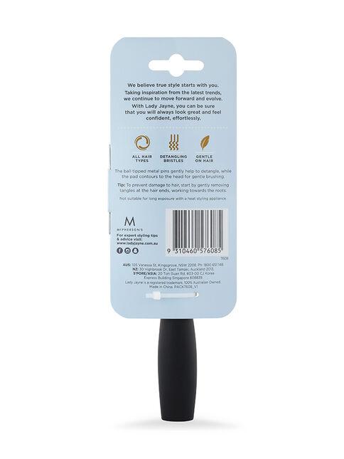 Purse-Sized Metal Bristles Pad Brush