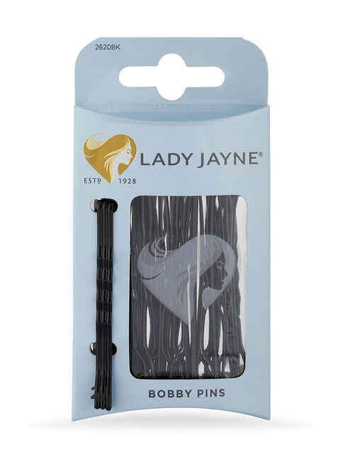 Large Black Bobby Pins - 25 Pk
