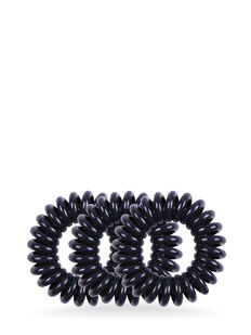 Style Guards Navy Blue Kink Free Spirals - 4 Pk