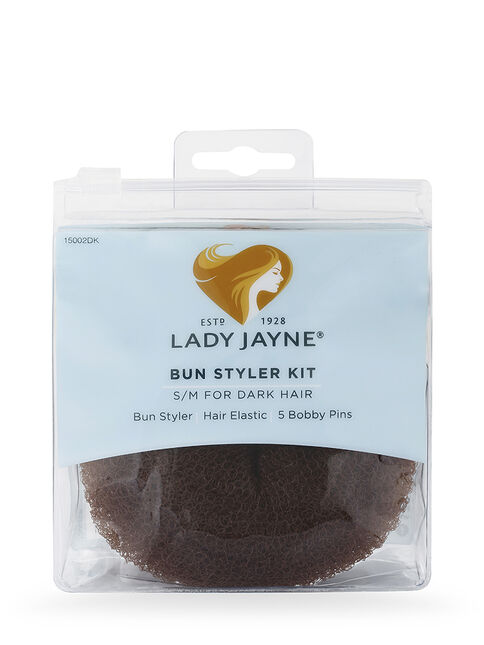 Dark Bun Styler Kit - S/M