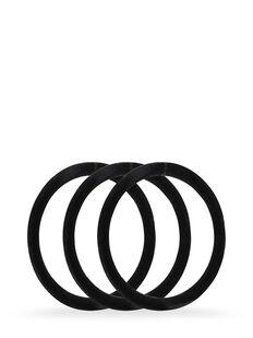 Smoothies Black Luxury Elastics - 8 Pk