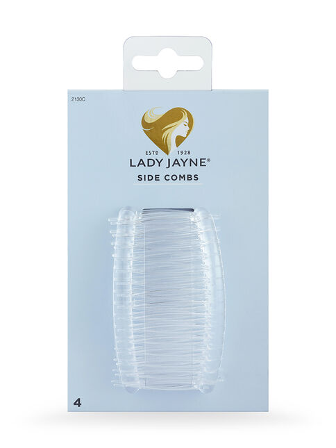 Crystal Side Combs - 4 Pk