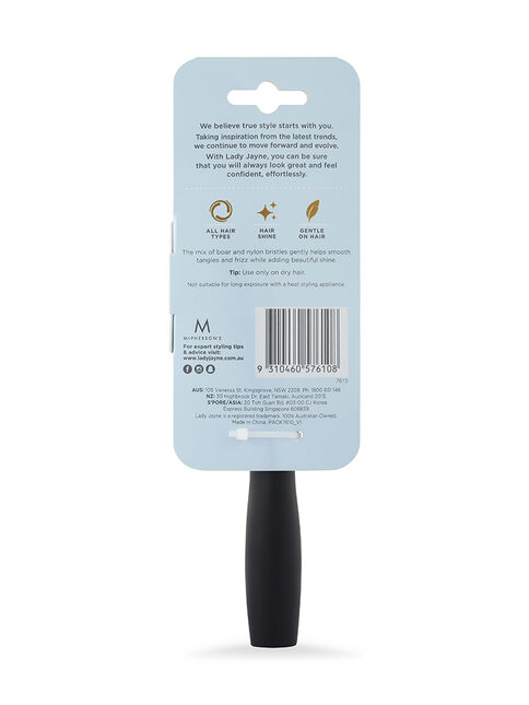 Purse-Sized Multi-Tuft Bristles Pad Brush