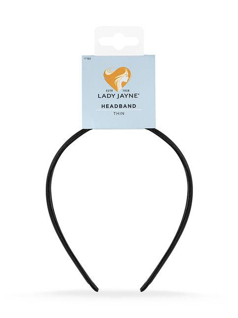 Thin Headband - Black