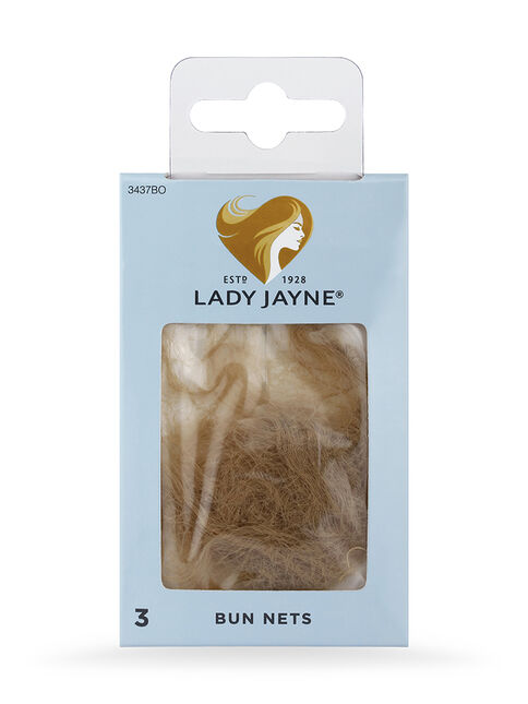 Blonde Bun Nets - 3 Pk
