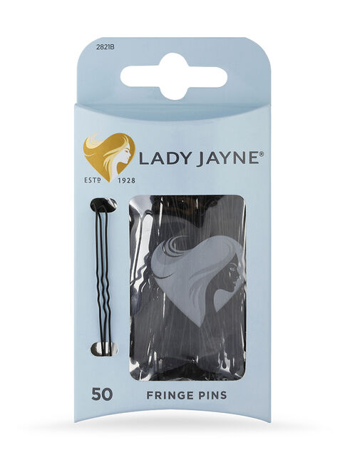 Black Fringe Pins - 50 Pk