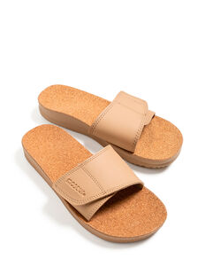 Gentle Massage Sandal Beige