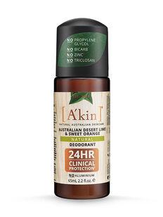 Australian Desert Lime & Sweet Orange Natural Roll-On Deodorant 65mL