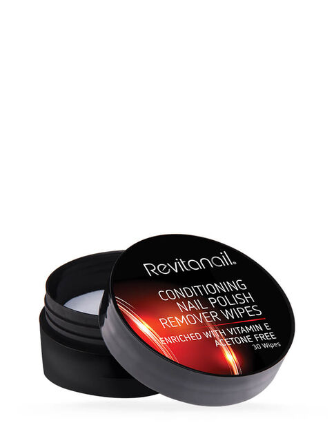 Conditioning Nail Polish Remover Wipes 30pk