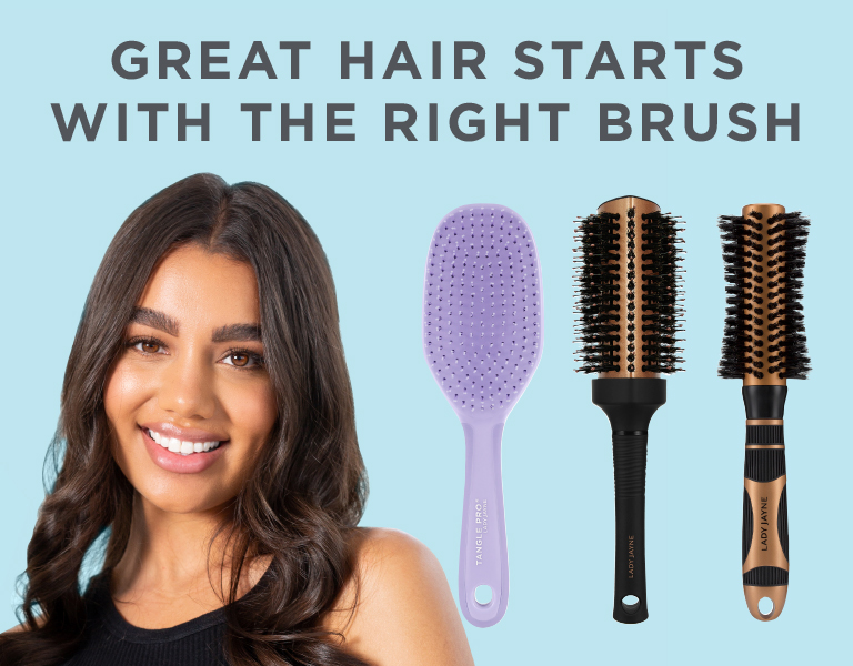 It all starts with the right Lady Jayne Brush