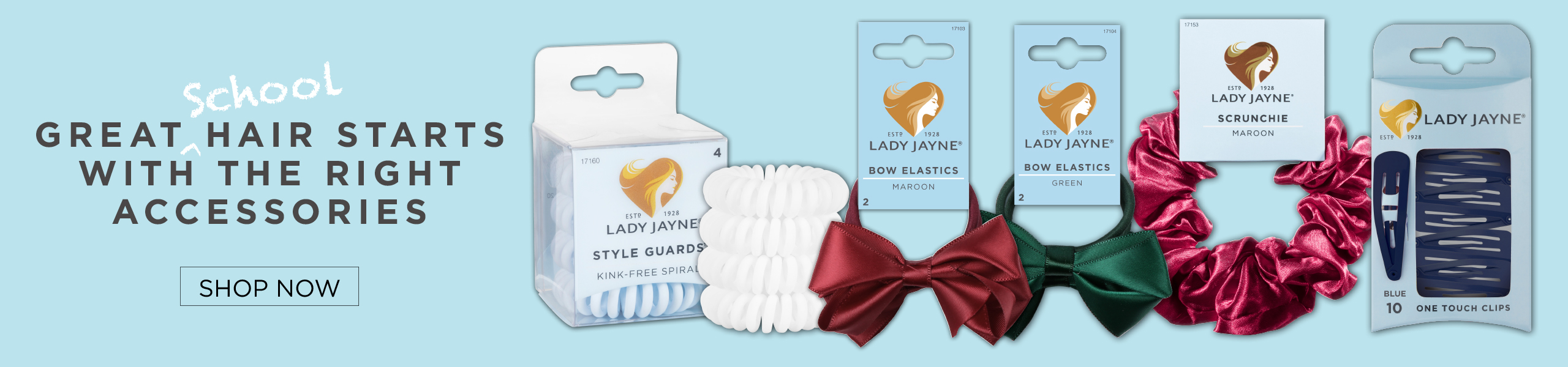 Discover Lady Jayne School Colours Range